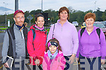 John O'Shea, Maureen Hegarty, Annie Vogels, Agnes Gilligan and Sheila Kingston Killarney at the Old Kenmare Walk in aid of the MS Society on Sunday