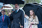 King Felipe VI of Spain and Princess of Asturias Leonor during the visit to Asiego, the village who won the 'Exemplary Village Award' 2019. October 19, 2019 (Alterphotos/ Francis Gonzalez)
