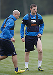 Jon Daly showing a bit of leg