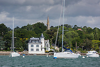 France, Morbihan, Arradon: Tour Vincent //   France, Morbihan, Arradon: Tour Vincent