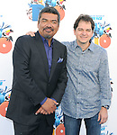 Carlos Saldanha and George Lopez at The Twentieth Century Fox Voice Presentation of RIO held at The Zanuck Theatre on Twentieth Century Fox Lot in Los Angeles, California on January 28,2011                                                                               © 2010 DVS/Hollywood Press Agency