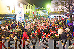 Pictured at the Santa parade and the turning on of the Christmas Lights in Killarney on Friday.