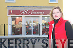 Christina Hickey outside.her premises in Kilflynn.   Copyright Kerry's Eye 2008