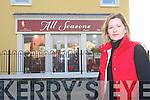 Christina Hickey outside.her premises in Kilflynn.   Copyright Kerry's Eye 2008