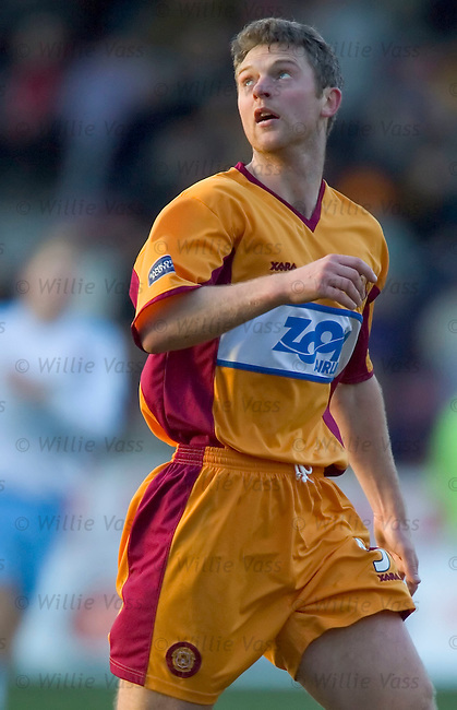 Stephen Craigan, Motherwell.stock season 2004-2005.pic willie vass