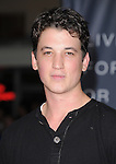 Miles Teller at The Regency Enterprises L.A. Premiere of In Time held at The Regency Village Theatre in Westwood, California on October 20,2011                                                                               © 2011 Hollywood Press Agency