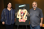 "Diana Prince and Robert Zintz attends the BroadwayHD's ""42nd Street"" Screening at the AMC Empire 25 Theatres on April 16, 2019 in New York City."