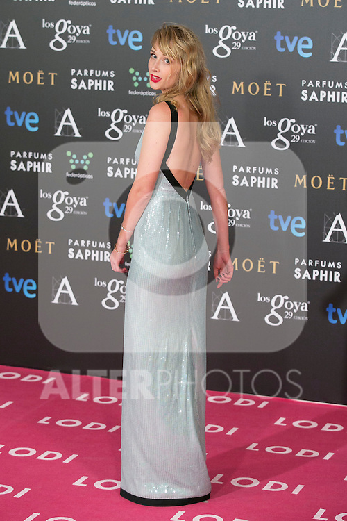 Ingrid Garcia Johnson attend the 2015 Goya Awards at Auditorium Hotel, Madrid,  Spain. February 07, 2015.(ALTERPHOTOS/)Carlos Dafonte)