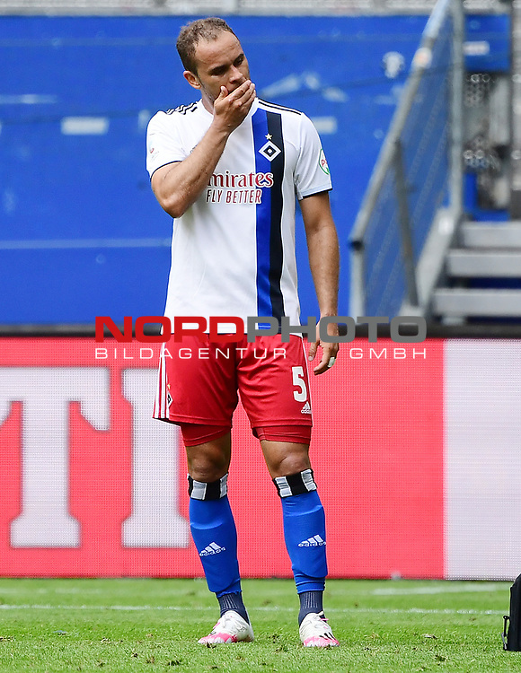 Ewerton (HSV)<br /> Hamburg, 28.06.2020, Fussball 2. Bundesliga, Hamburger SV - SV Sandhausen<br /> Foto: VWitters/Witters/Pool//via nordphoto<br />  DFL REGULATIONS PROHIBIT ANY USE OF PHOTOGRAPHS AS IMAGE SEQUENCES AND OR QUASI VIDEO<br /> EDITORIAL USE ONLY<br /> NATIONAL AND INTERNATIONAL NEWS AGENCIES OUT