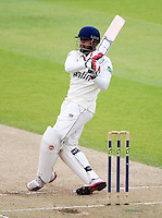 PICTURE BY VAUGHN RIDLEY/SWPIX.COM - Cricket - County Championship Div 2 - Yorkshire v Essex, Day 3 - Headingley, Leeds, England - 21/04/12 - Essex's Ravi Bopara hits out.