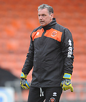 Blackpool Goalkeeper Coach Dave Timmins<br /> <br /> Photographer Kevin Barnes/CameraSport<br /> <br /> The EFL Sky Bet League One - Blackpool v Plymouth Argyle - Saturday 30th March 2019 - Bloomfield Road - Blackpool<br /> <br /> World Copyright © 2019 CameraSport. All rights reserved. 43 Linden Ave. Countesthorpe. Leicester. England. LE8 5PG - Tel: +44 (0) 116 277 4147 - admin@camerasport.com - www.camerasport.com