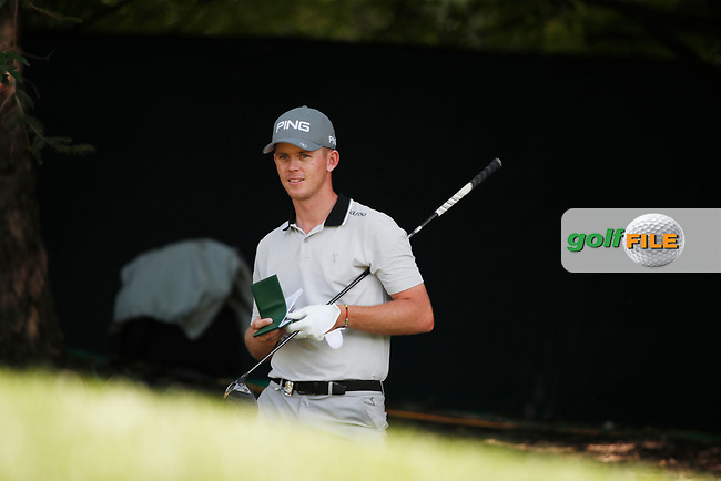 Brandon Stone (South Africa) tees off on the 17th hole during the first round of the 100th PGA Championship at Bellerive Country Club, St. Louis, Missouri, USA. 8/9/2018.<br /> Picture: Golffile.ie   Brian Spurlock<br /> <br /> All photo usage must carry mandatory copyright credit (© Golffile   Brian Spurlock)