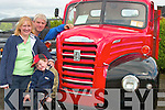 Daniel, Hannah and Kieran O' Sullivan, from Causeway found a nice looking truck at the the Vintage Day in Knockanure on Sunday..   Copyright Kerry's Eye 2008