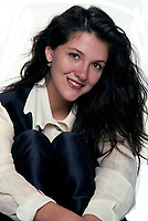 EXCLUSIVE FILE PHOTO :  Martine Chevrier<br />  circa 1993 (exact date unkown)<br /> <br /> <br /> Photo : Stephane Fournier - Agence Quebec Presse