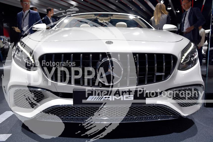 Mercedes-AMG S 65 4matic+ Cabriolet auf der Internationalen Automobil-Ausstellung 2017 auf dem Messegelände. Frankfurt am Main, 12.09.2017
