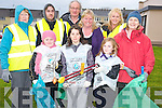 Pictured at the cleanup in Ballyspillane, Killarney on Thursday were Kelsey Somers, Chloe McCarthy, Emma Lyne, Kathleen Foley, David Foran, Cllr Michael Gleeson, Liz Corcoran, Mary Boyne and Siobhan Clancey.