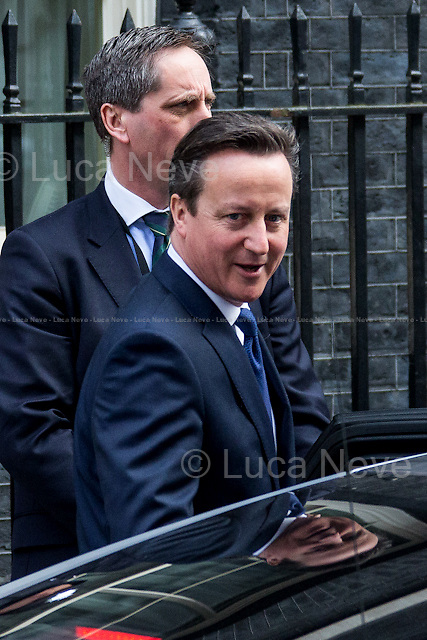 David Cameron (British Prime Minister).<br />