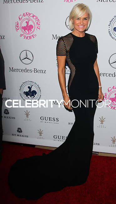 BEVERLY HILLS, CA, USA - OCTOBER 11: Yolanda Foster arrives at the 2014 Carousel Of Hope Ball held at the Beverly Hilton Hotel on October 11, 2014 in Beverly Hills, California, United States. (Photo by Celebrity Monitor)
