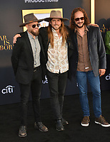 LOS ANGELES, CA. September 24, 2018: Lukas Nelson &amp; Promise of the Real at the Los Angeles premiere for &quot;A Star Is Born&quot; at the Shrine Auditorium.<br /> Picture: Paul Smith/Featureflash