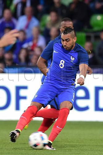04.06.2016. Stade Saint Symphorien, Metz, France. International football freindly,France versus Scotland.  Dimitri Payet (France)