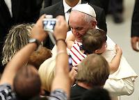 20150905 VATICANO: PAPA FRANCESCO INCONTRA LE CELLULE PARROCCHIALI DI EVANGELIZZAZIONE