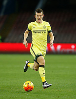 Ivan Persic  during the Quartef-final of Tim Cup soccer match,between SSC Napoli and vFC Inter    at  the San  Paolo   stadium in Naples  Italy , January 20, 2016