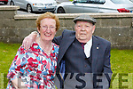 Tom Foley of Kerins Park celebrating his 90th birthday at home on Monday pictured with his wife Pat.