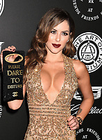 SANTA MONICA, CA - JANUARY 06: Model/Actress Brittney Palmer  arrives at the The Art Of Elysium's 11th Annual Celebration - Heaven at Barker Hangar on January 6, 2018 in Santa Monica, California.<br /> CAP/ROT/TM<br /> &copy;TM/ROT/Capital Pictures