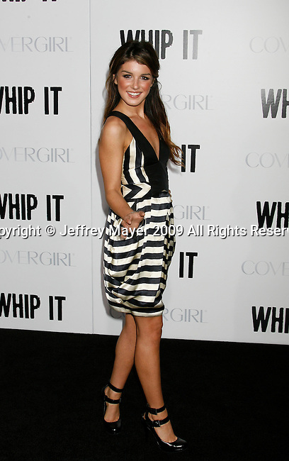 "HOLLYWOOD, CA. - September 29: Shenae Grimes arrives at the Los Angeles premiere of ""Whip It"" at the Grauman's Chinese Theatre on September 29, 2009 in Hollywood, California."