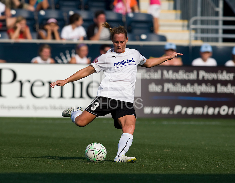 Christie Rampone.  The Philadelphia Independence defeated magicJack SC, 2-0, during the game at PPL Field in Chester, PA.
