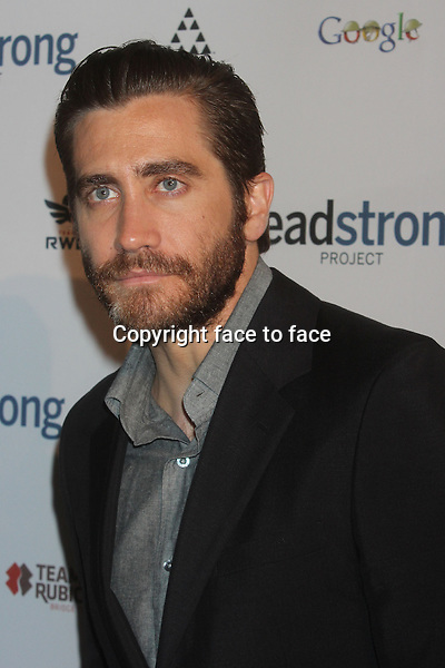 "Jake Gyllenhaal attends The Headstrong Project's ""Words Of War"" event at IAC HQ in New York, 08.05.2013. Credit: Rolf Mueller/face to face"