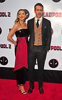 Bronx, NY - May 14: Blake Lively, Ryan Reynolds attends the 'Deadpool 2' screening at AMC Loews Lincoln Square on May 14, 2018 in New York City..  <br /> CAP/MPI/PAL<br /> &copy;PAL/MPI/Capital Pictures