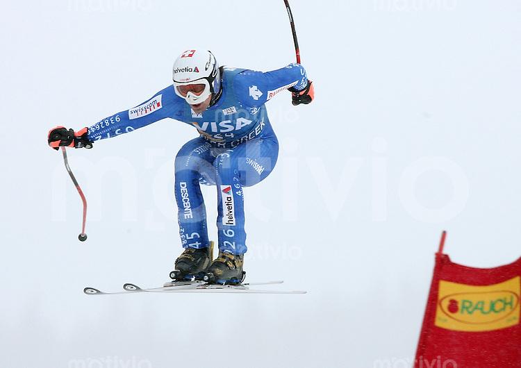 Ski Alpin; Saison 2006/2007   Training Herren Bruno Kernen (SUI)