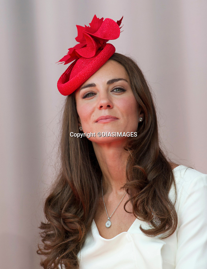 "CATHERINE, DUCHESS OF CAMBRIDGE.WILLIAM & KATE ATTEND CANADA DAY CELEBRATIONS.Parliament Hill, Ottawa_01/07/2011.Mandatory Credit Photo: ©DIAS-DIASIMAGES..**ALL FEES PAYABLE TO: ""NEWSPIX INTERNATIONAL""**..No UK Sales until 29/07/2011.IMMEDIATE CONFIRMATION OF USAGE REQUIRED:.DiasImages, 31a Chinnery Hill, Bishop's Stortford, ENGLAND CM23 3PS.Tel:+441279 324672  ; Fax: +441279656877.Mobile:  07775681153.e-mail: info@newspixinternational.co.uk"