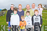 TRIATHLON FUN: Having great fun at the 7 Frogs Triathlon in Castlegregory on Saturday front l-r: James Slowey, Shane O'Herlihy, Sean Tracey and Evan O'Herlihy. Back l-r: James Slowey, Shane Markham, Declan Tracey, Niall O'Herlihy and Laoise O'Herlihy.