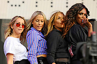 LONDON, ENGLAND - SEPTEMBER 9: Natalie Appleton, Nicole Appleton, Melanie Blatt and Shaznay Lewis of 'All Saints' performing at BBC Radio 2 Live in Hyde Park, on September 9, 2018 in London, England.<br /> CAP/MAR<br /> &copy;MAR/Capital Pictures