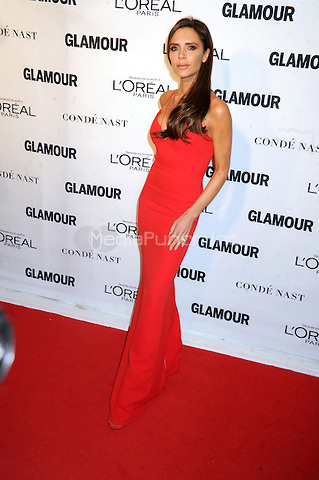 Victoria Beckham attends Glamour's 25th Anniversary Women Of The Year Awards at Carnegie Hall   on November 9, 2015. Credit: Dennis Van Tine/MediaPunch