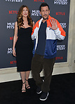 "Jennifer Aniston, Adam Sandler 034 arrives at the LA Premiere Of Netflix's ""Murder Mystery"" at Regency Village Theatre on June 10, 2019 in Westwood, California"