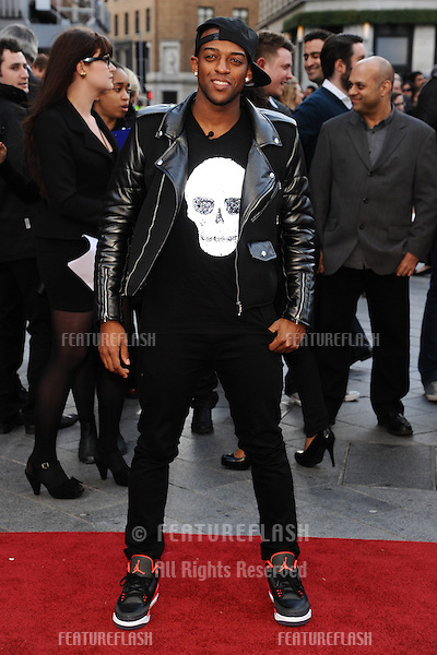 JLS singer, Oritse arriving for the Iron Man 3 Premiere, Odeon Leicester Square, London. 18/04/2013 Picture by: Steve Vas / Featureflash