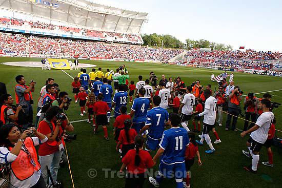 Sandy - USA vs. El Salvadar FIFA World Cup Qualifier Soccer Saturday, September 5 2009 at Rio Tinto Stadium. .