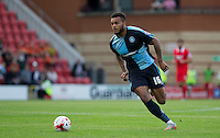 Aaron Holloway of Wycombe Wanderers in action during the Sky Bet League 2 match between Leyton Orient and Wycombe Wanderers at the Matchroom Stadium, London, England on 19 September 2015. Photo by Andy Rowland.