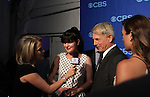 NCIS Cast - Cote de Pablo - Mark Harmon - Perrette Pauley at the CBS Upfront on May 15, 2013 at Lincoln Center, New York City, New York. (Photo by Sue Coflin/Max Photos)