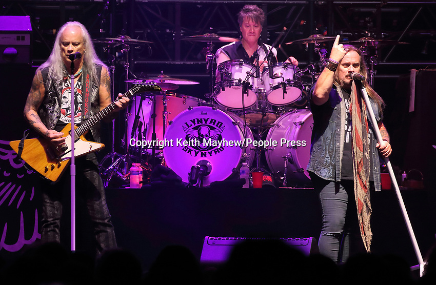 Lynyrd Skynyrd play the London date of their 'Last of the Street Survivors Farewell Tour' at SSE Wembley Arena, London on June 29th 2019<br />