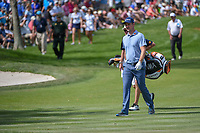 Justin Rose (ENG) makes his way down 6 during round 2 of the Arnold Palmer Invitational at Bay Hill Golf Club, Bay Hill, Florida. 3/8/2019.<br />