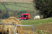 Post Office van, Dinkling Green, Lancashire.