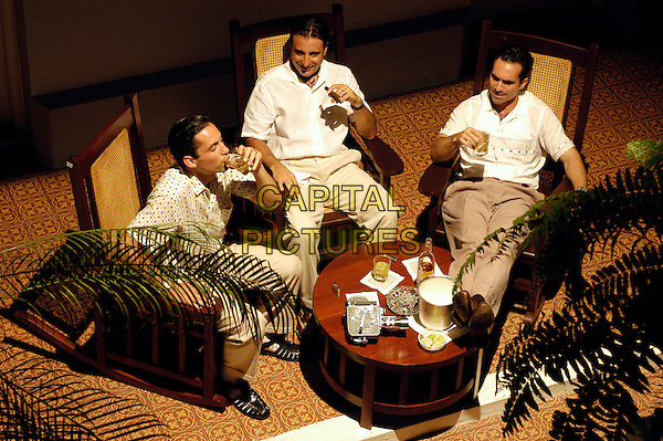 ENRIQUE MARCIANO, ANDY GARCIA & NESTOR CARBONELL.in The Lost City.*Editorial Use Only*.www.capitalpictures.com.sales@capitalpictures.com.Supplied by Capital Pictures.