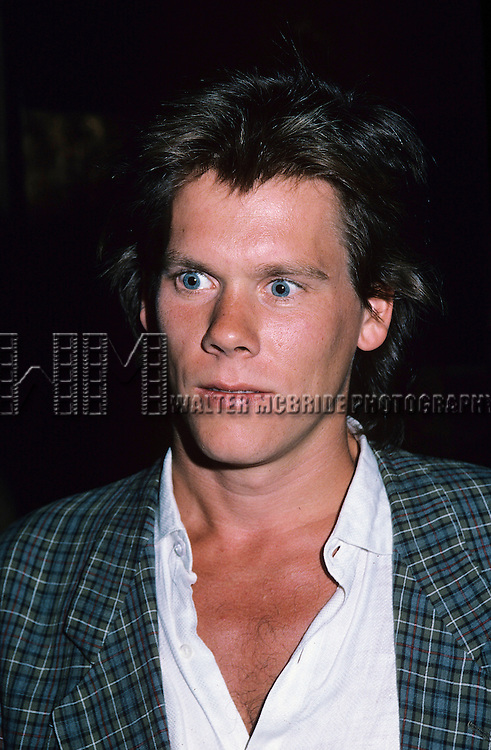 Kevin Bacon in 1985 in New York City.