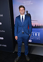 "LOS ANGELES, USA. June 06, 2019: Jackson Hinkle at the premiere for ""Ice on Fire"" at the LA County Museum of Art.<br /> Picture: Paul Smith/Featureflash"