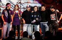 ENROLATE 2008.<br /> Grupo Adicted de Cd Obregon  se llevo el Primer lugar en el concurso Enrolate 2008 . Benjamon Basaldua (d)