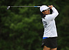 Arushi Gahlaut of Syosset tees off on the 12th Hole of Bethpage State Park's Yellow Course during the second round of the NYSPHSAA girls golf state championship on Sunday, June 3, 2018.